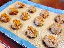 Acorn Chocolate chip cookie dough